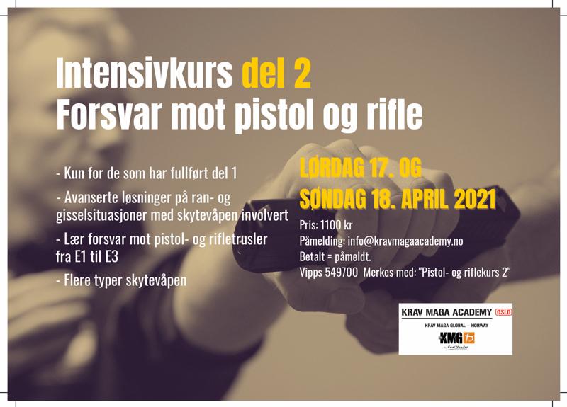 Pistol- og riflekurs del 2