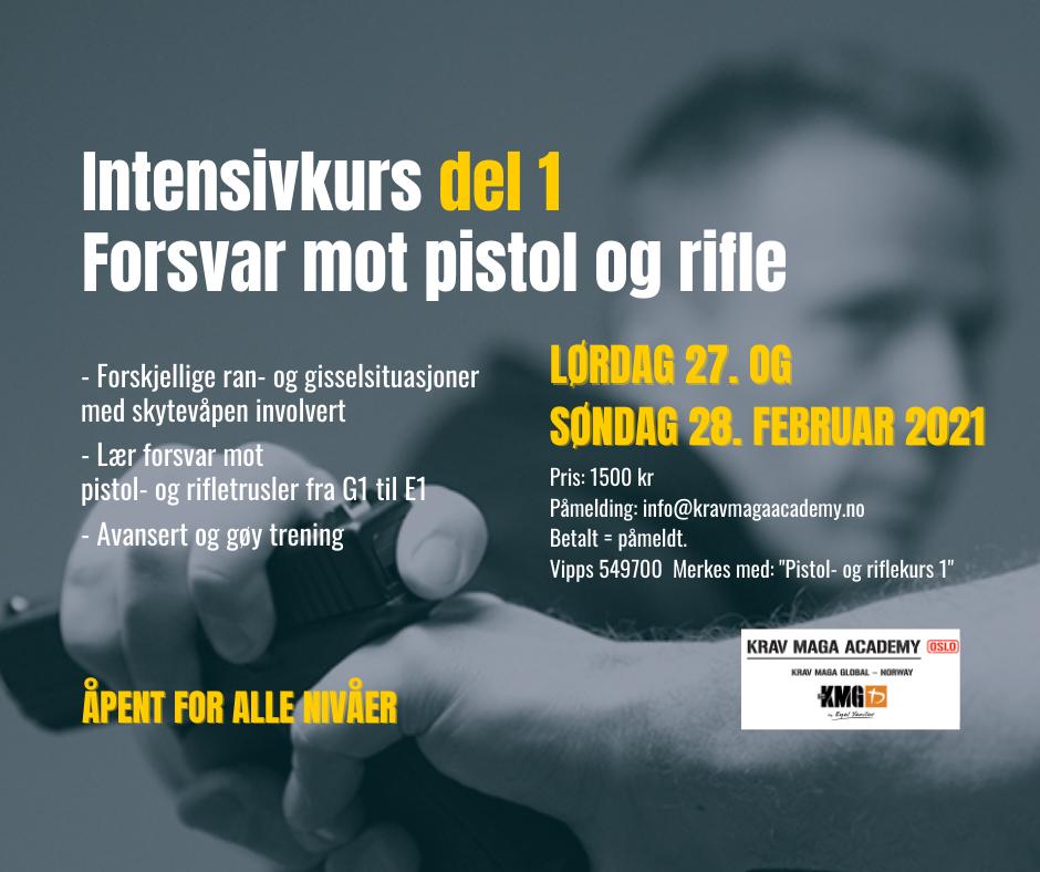 Pistol- og riflekurs del 1
