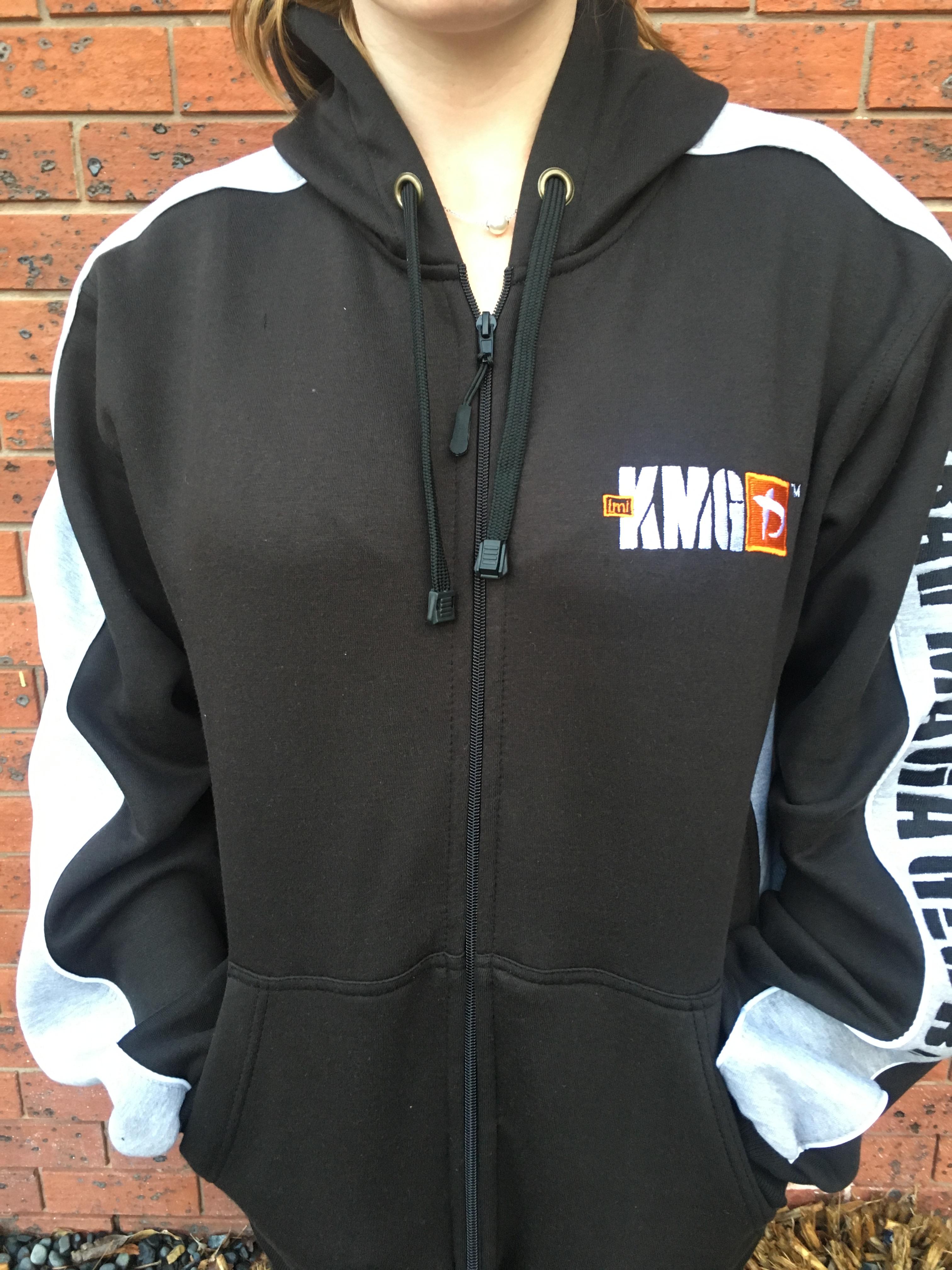 Krav Maga-jakke med glidelås