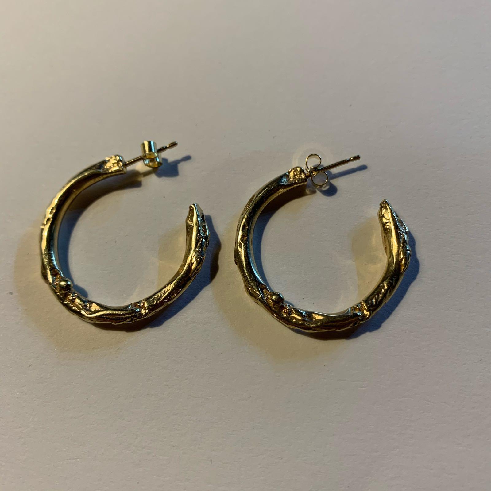 Samantha English Jewellery - Small Hoops