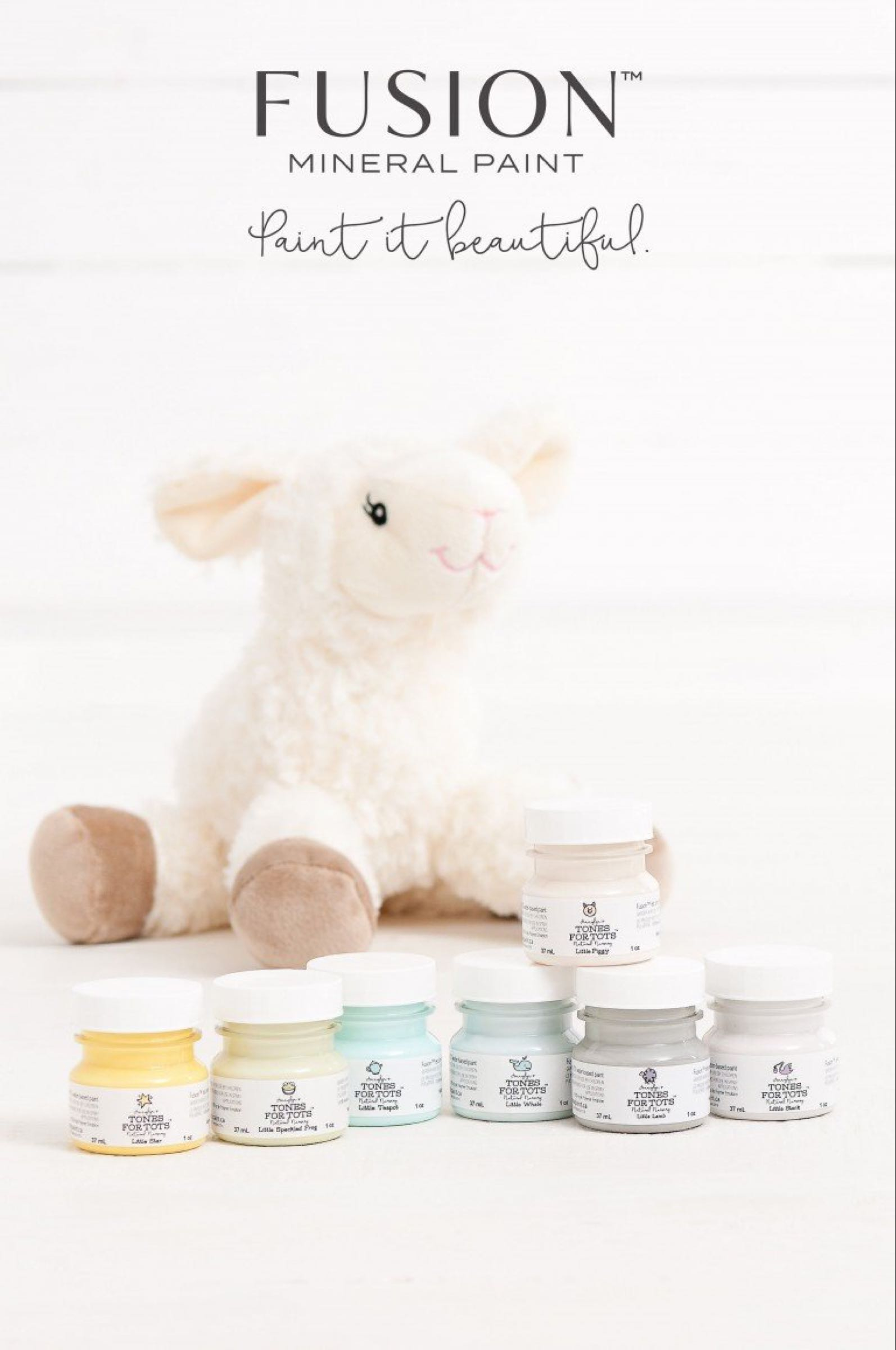 Fusion Mineral Paint 37ml Tester - Tones for Tots