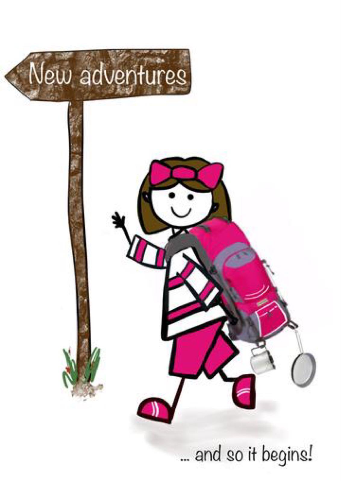 New Adventures Girl (FDE87)