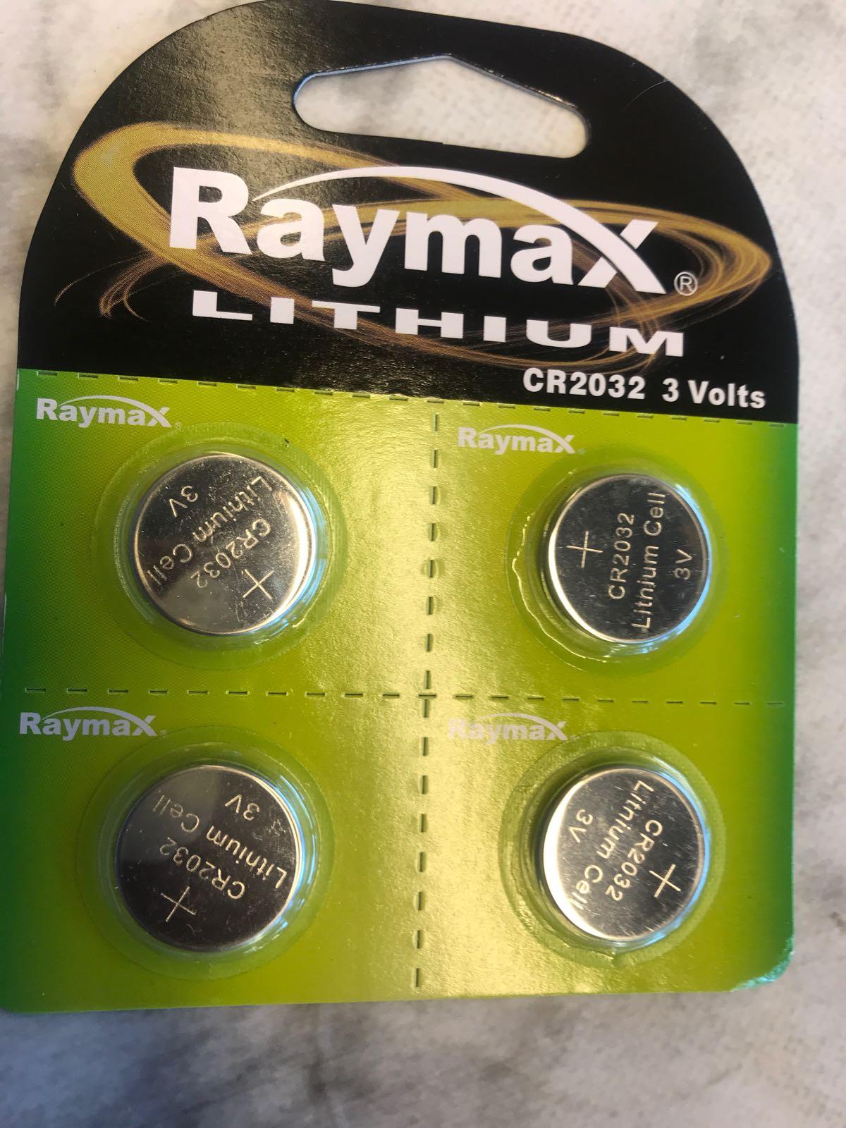 Batterier knappcell 4-pack/CR2032- 3 V