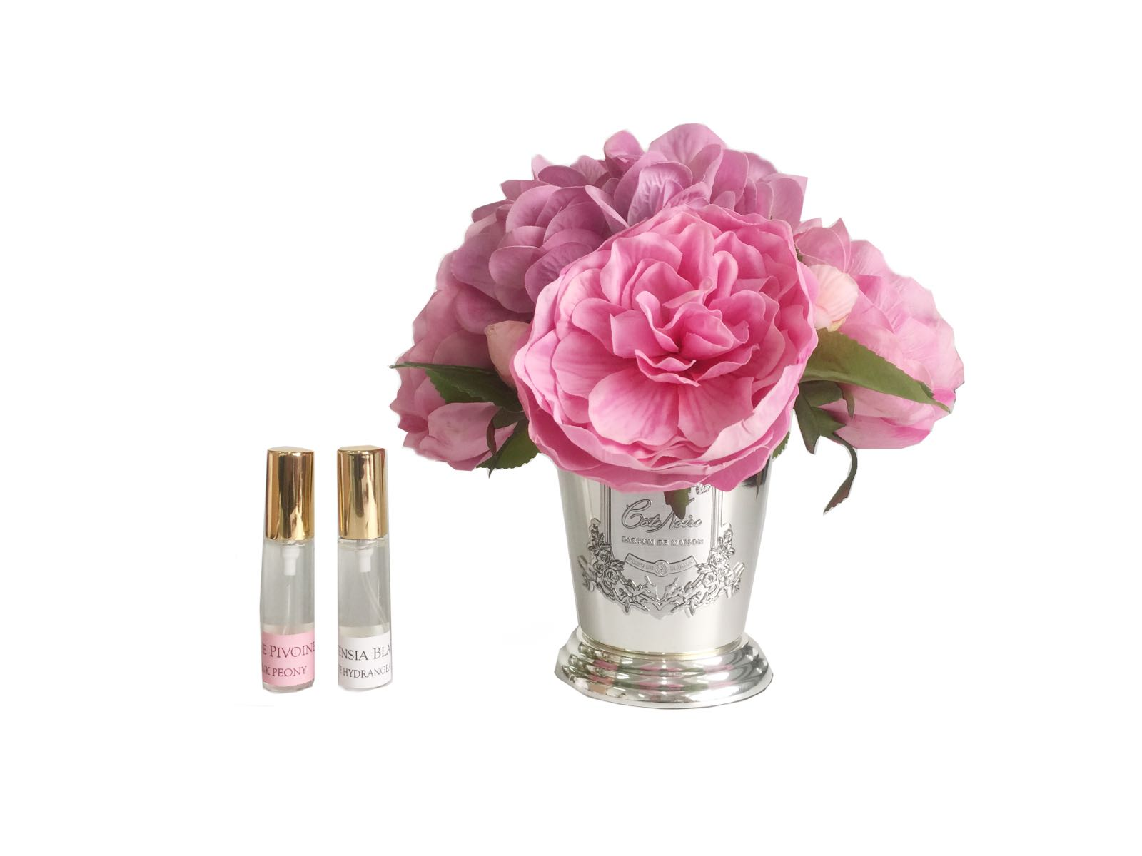 Cote noire Peony Bouquet in Pink