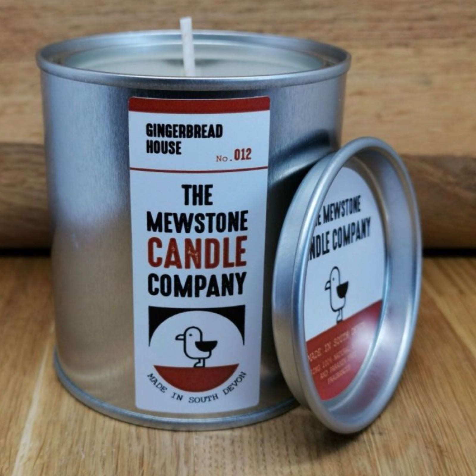 'Gingerbread House' Mewstone Paint Tin Candle