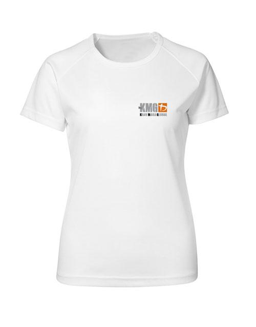 KMG Women's T-shirt - P, Bomuld