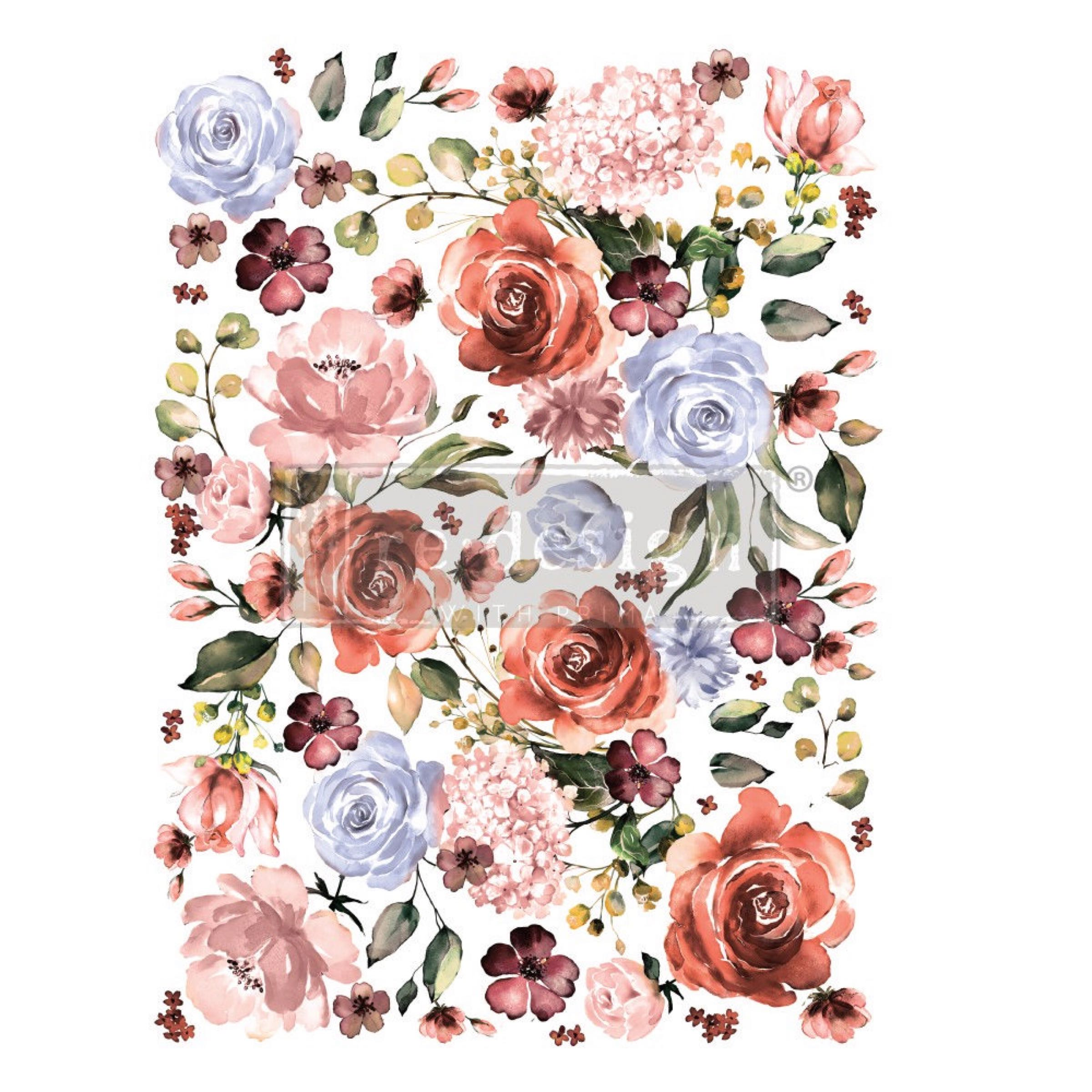 Re-Design with Prima Decor Transfer - Rose + Rouge OUT OF STOCK