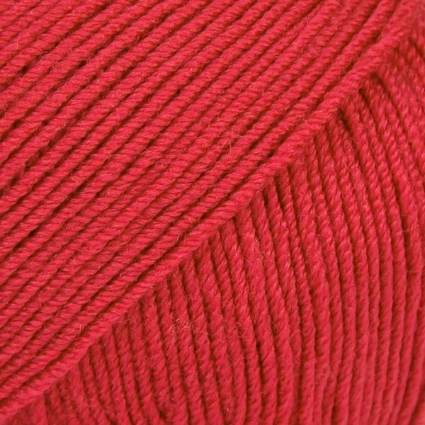 Drops Baby Merino, 16 uni colour rød