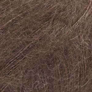 Drops Kid-Silk, uni colour 15 Mørk brun