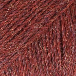 Drops Alpaca, mix 5565 vinrød