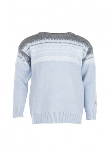 Marius Genser Original Pullover Baby Blue 6-7 år