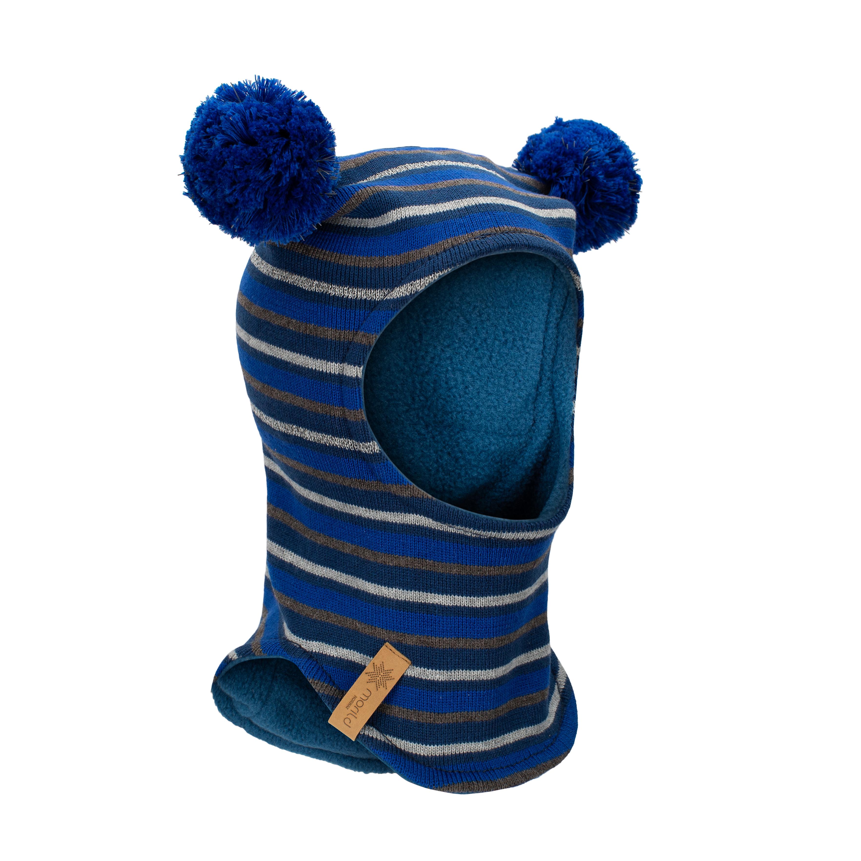 Morild Fonn balaklava med refleks, klar blå
