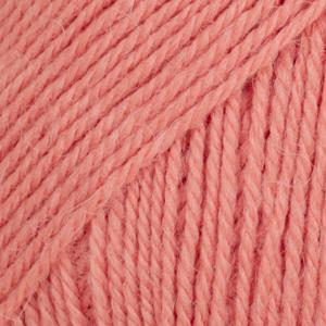 Drops Flora, uni colour 20 ferskenrosa