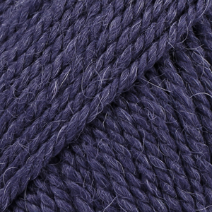 Drops Nepal, 1709 uni colour  marineblå