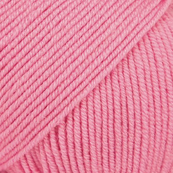 Drops Baby Merino, 07 uni colour rosa