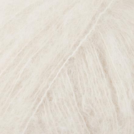 DROPS Brushed Alpaca Silk, uni colour 01 natur