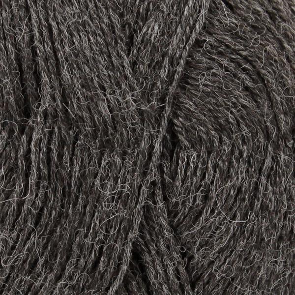 Drops Alpaca, mix 0506 mørk grå