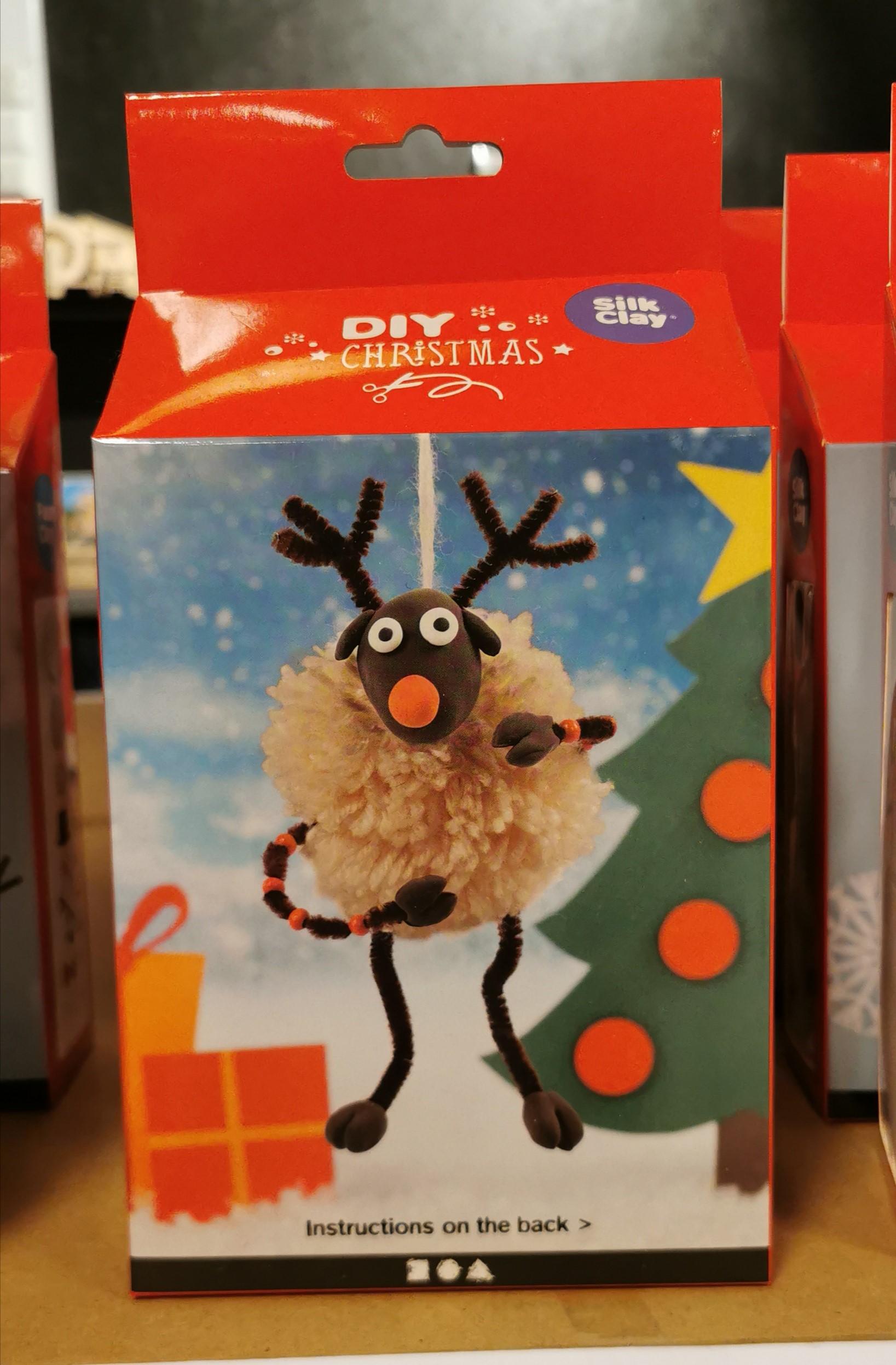 Diy reinsdyr, 1 sett