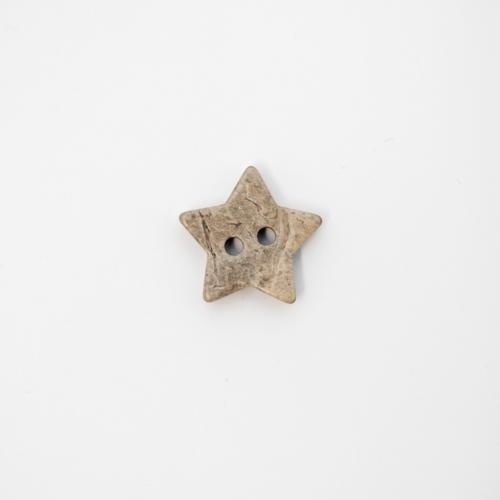 Treknapp Stjerne 15 mm