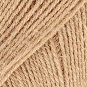 Drops Alpaca, uni colour 0302 kamel