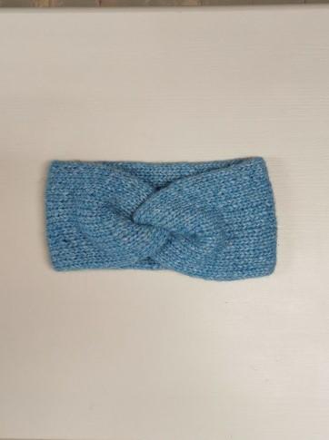 Pannebånd Twist, blå