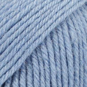 Drops Karisma, uni colour 30 lys jeansblå