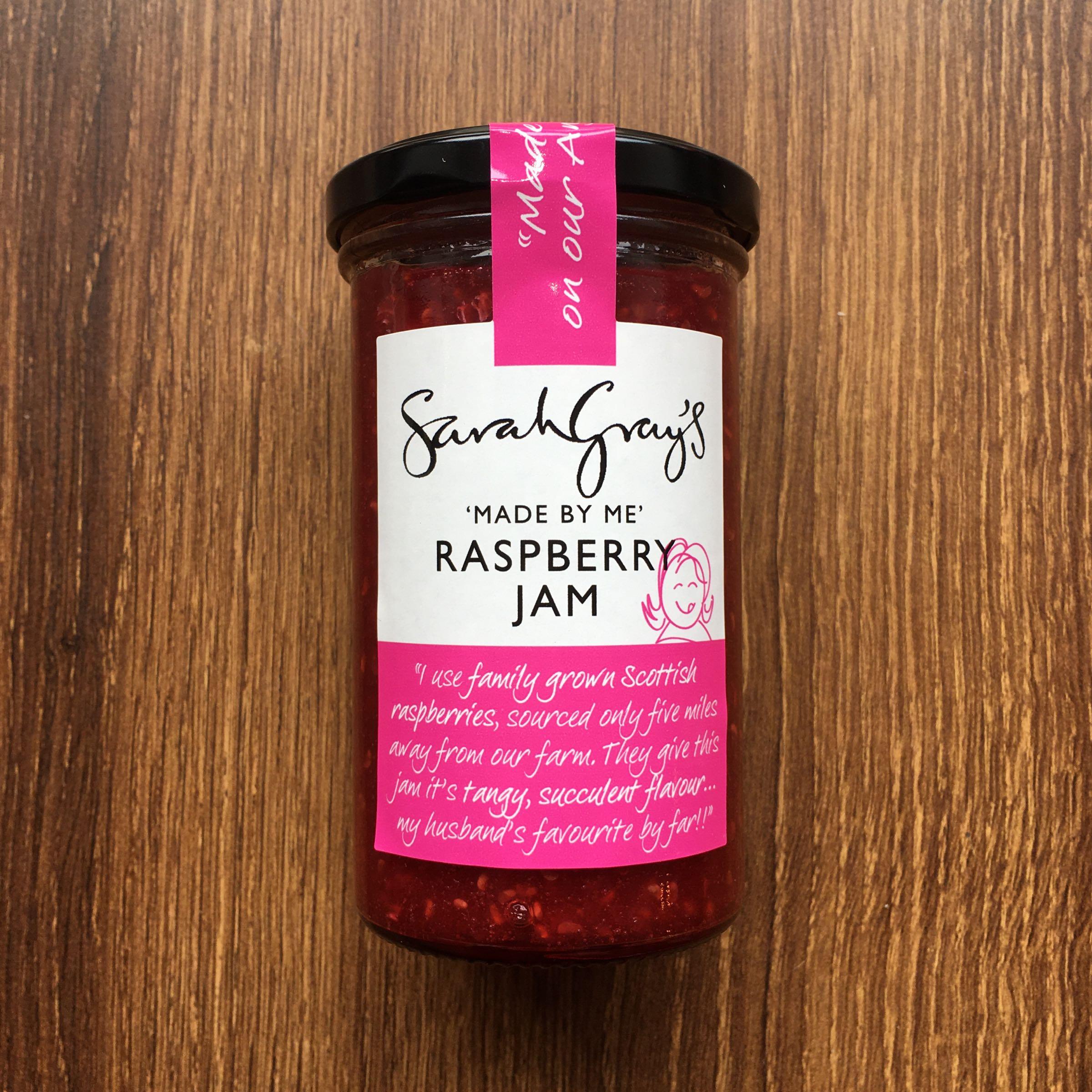 Sarah Gray's Raspberry Jam