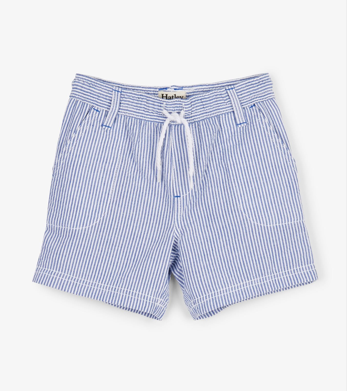 Hatley Blue Stripes Woven Shorts