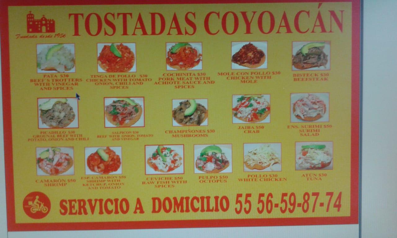 Tostadas Coyoacán