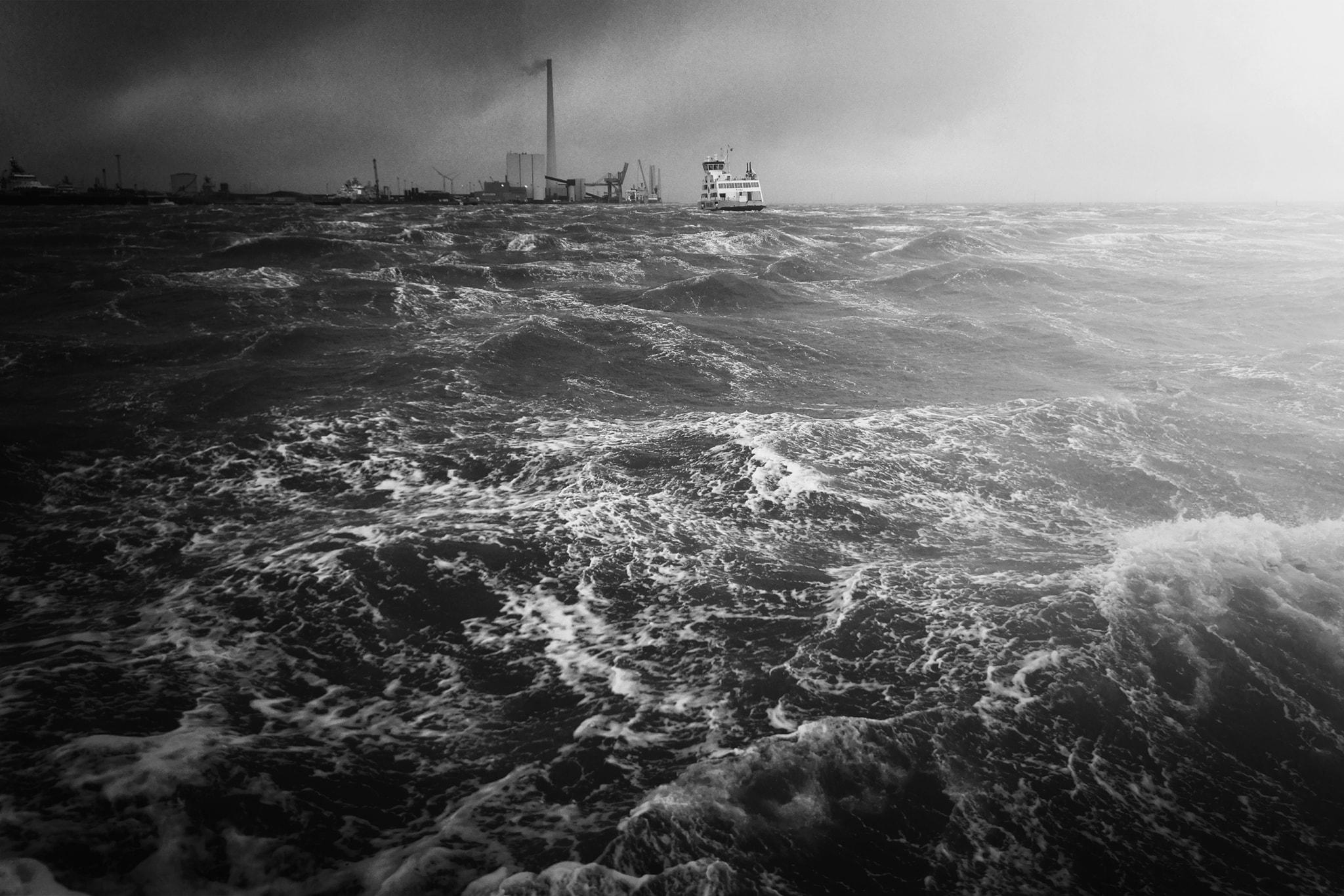 Storm over Esbjerg