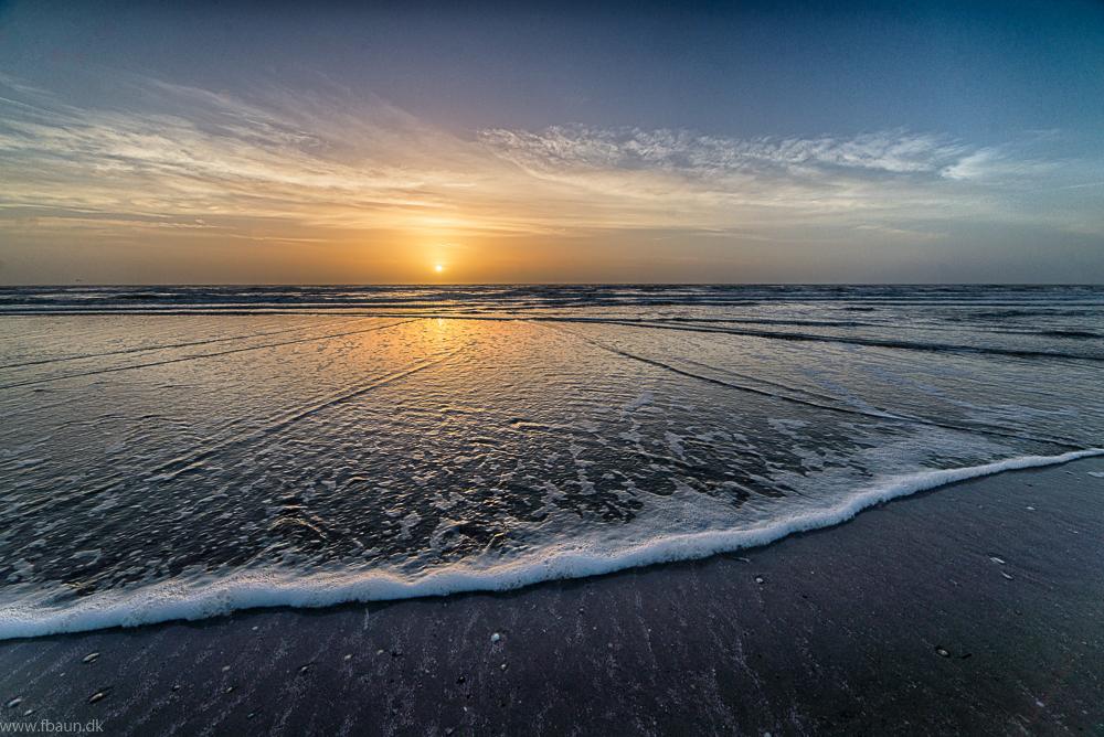 Våde tær og Sand