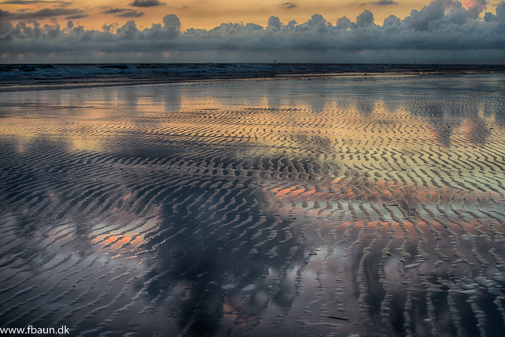 Fanø, stranden og havet