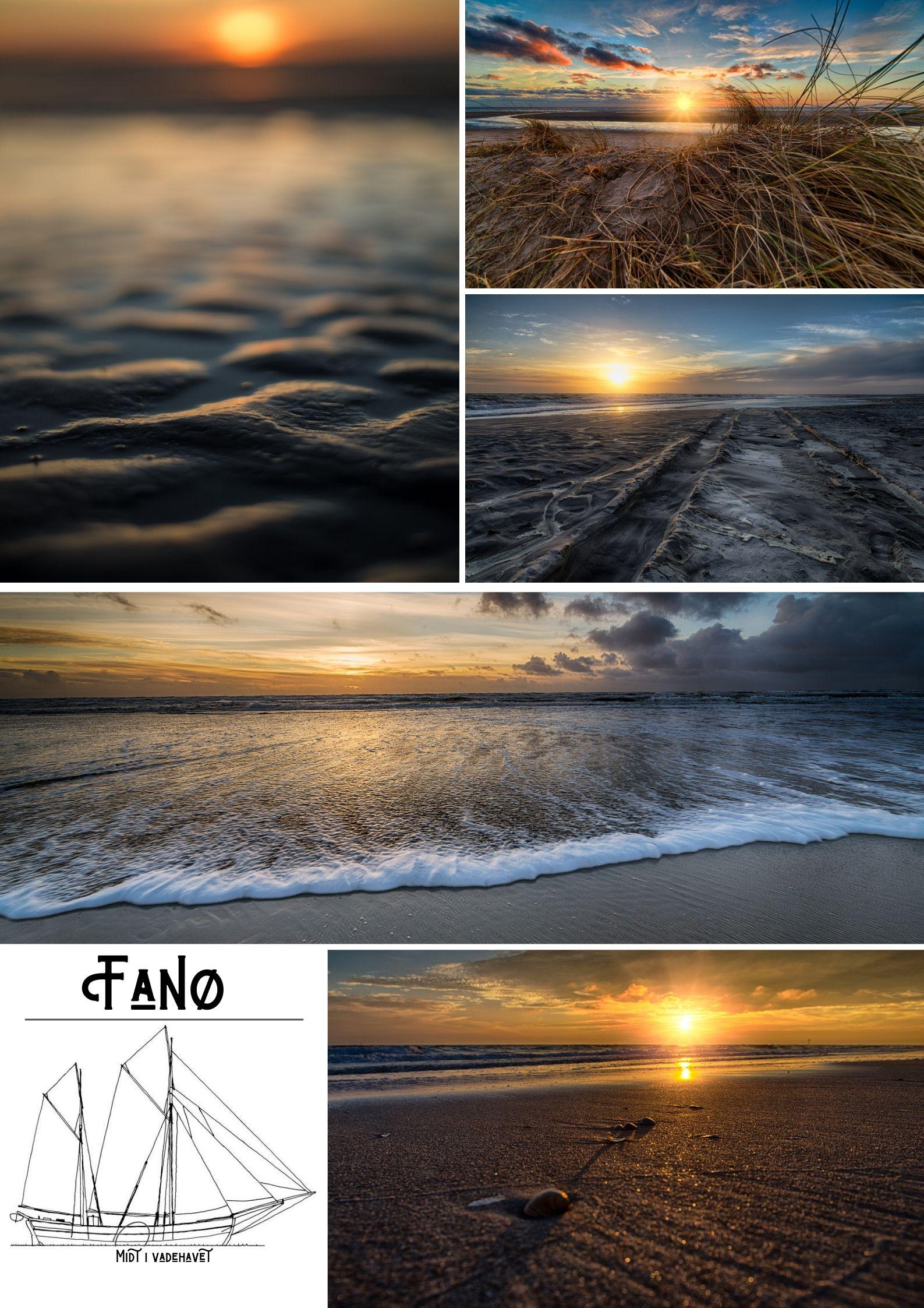 Fanø Plakat - Fanø bad