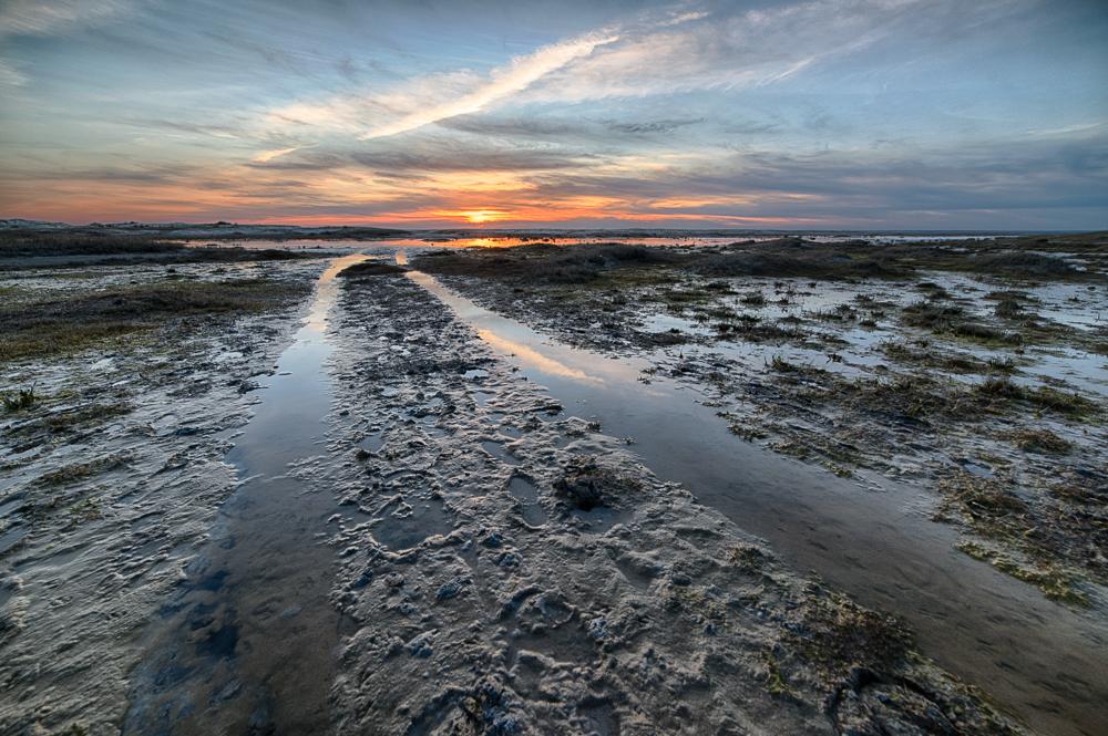 Vandvejen mod Søren Jessens sand