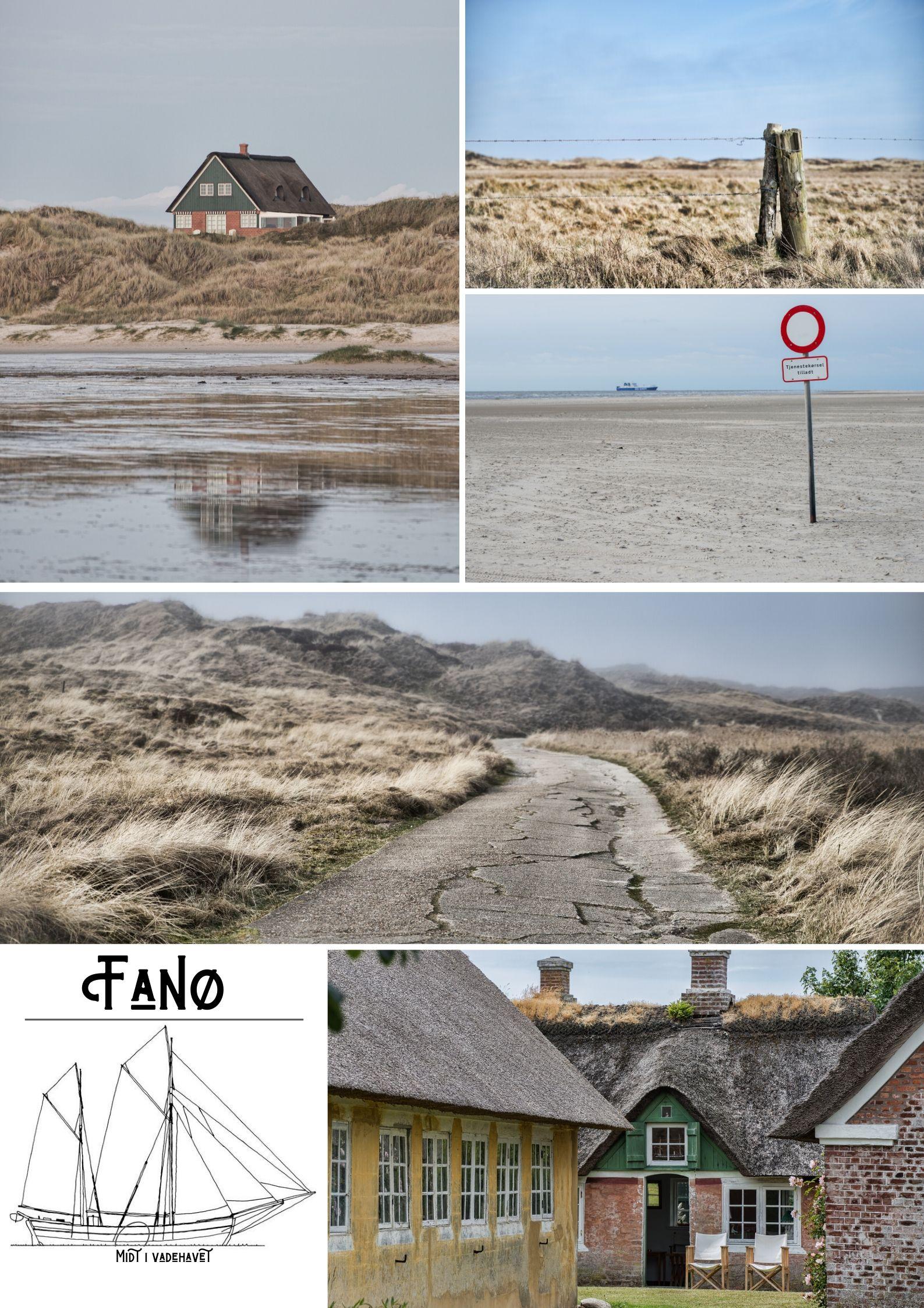 Fanø Plakat - Bare Fanø