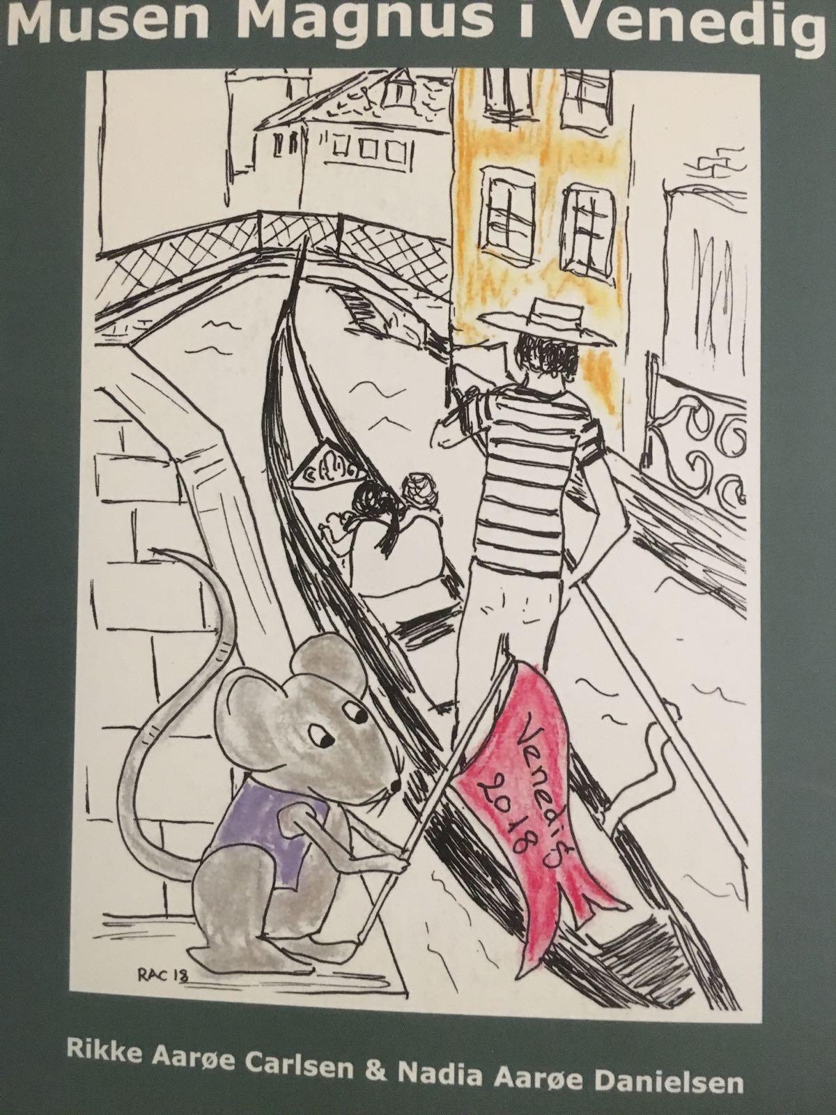 Musen Magnus i Venedig af Rikke Aarøe Carlsen og Nadia Aarøe Danielsen