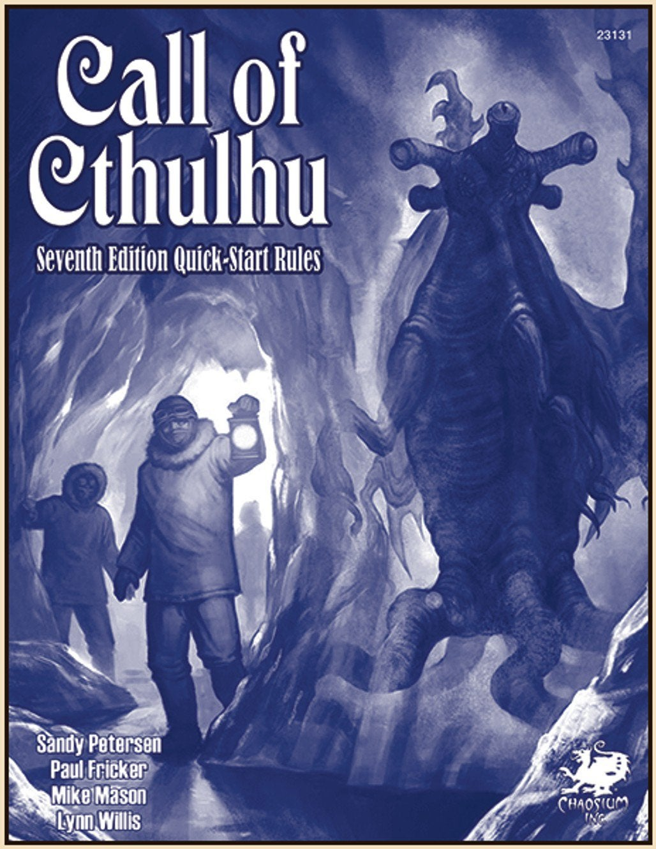 Call of Cthulhu RPG Quick Start Set