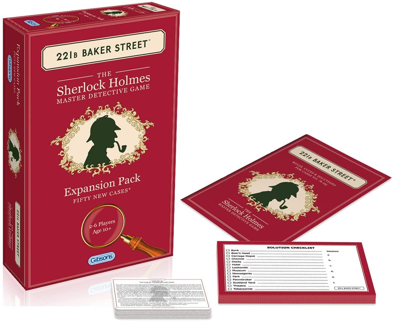 221B Baker Street: Expansion Pack (50 New Cases)