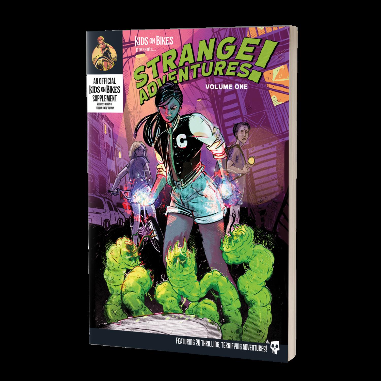 Kids On Bikes RPG: Strange Adventures Vol 1
