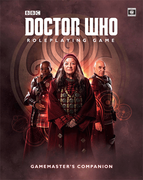 Doctor Who RPG: Gamemaster's Companion Book