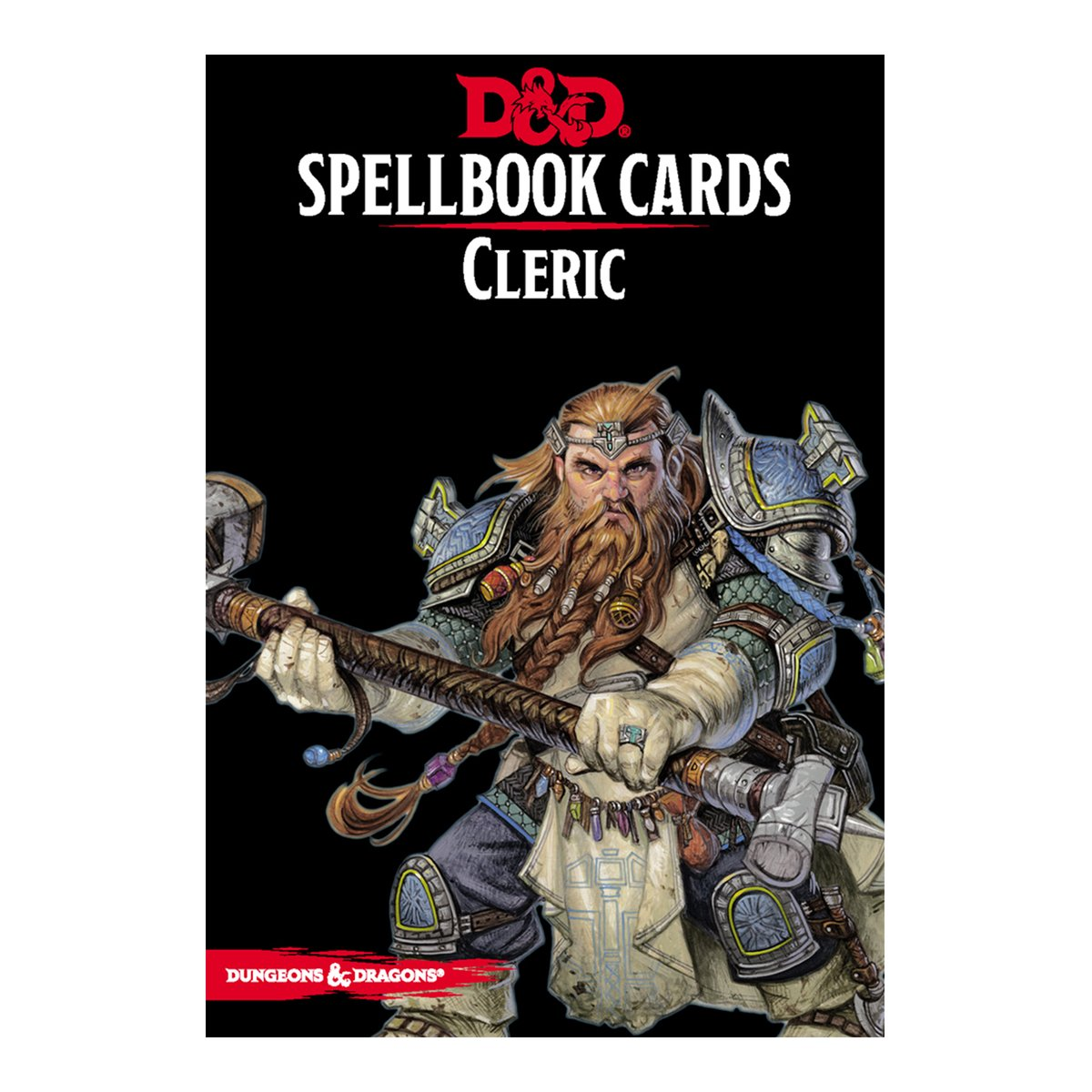 D & D Spellbook Cards - Cleric