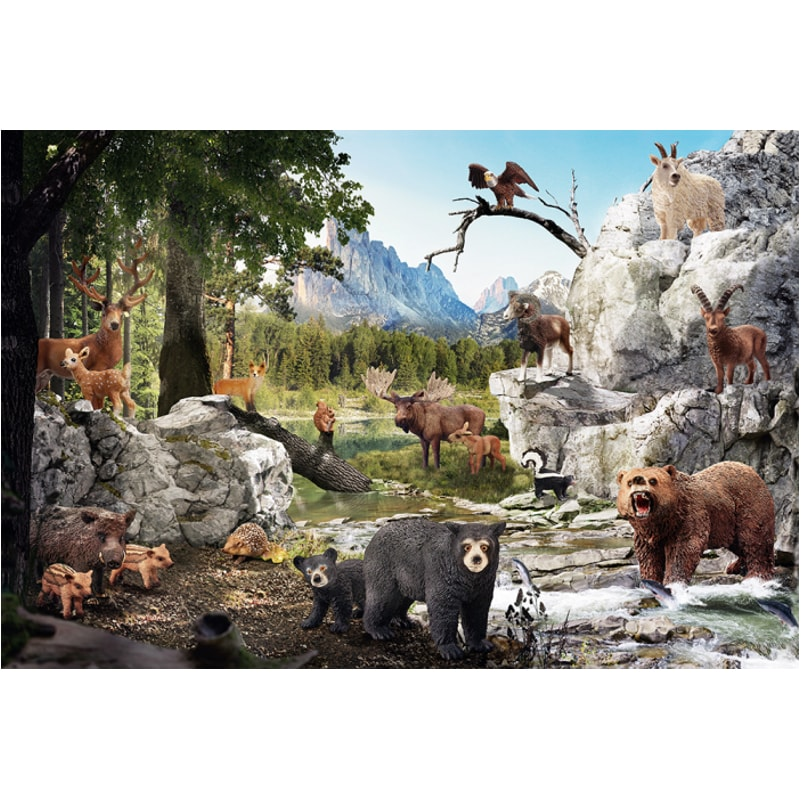 Animals Of The Forest 40pc Puzzle