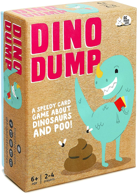 Dino Dump: A Speedy Card Game