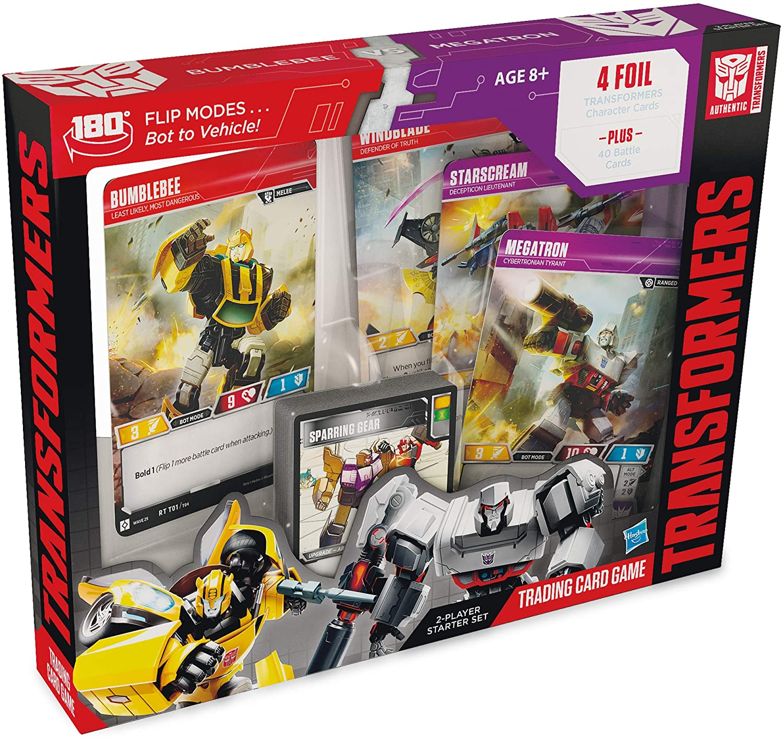 Transformers TCG: 2-Player Starter Set - Bumblebee vs Megatron