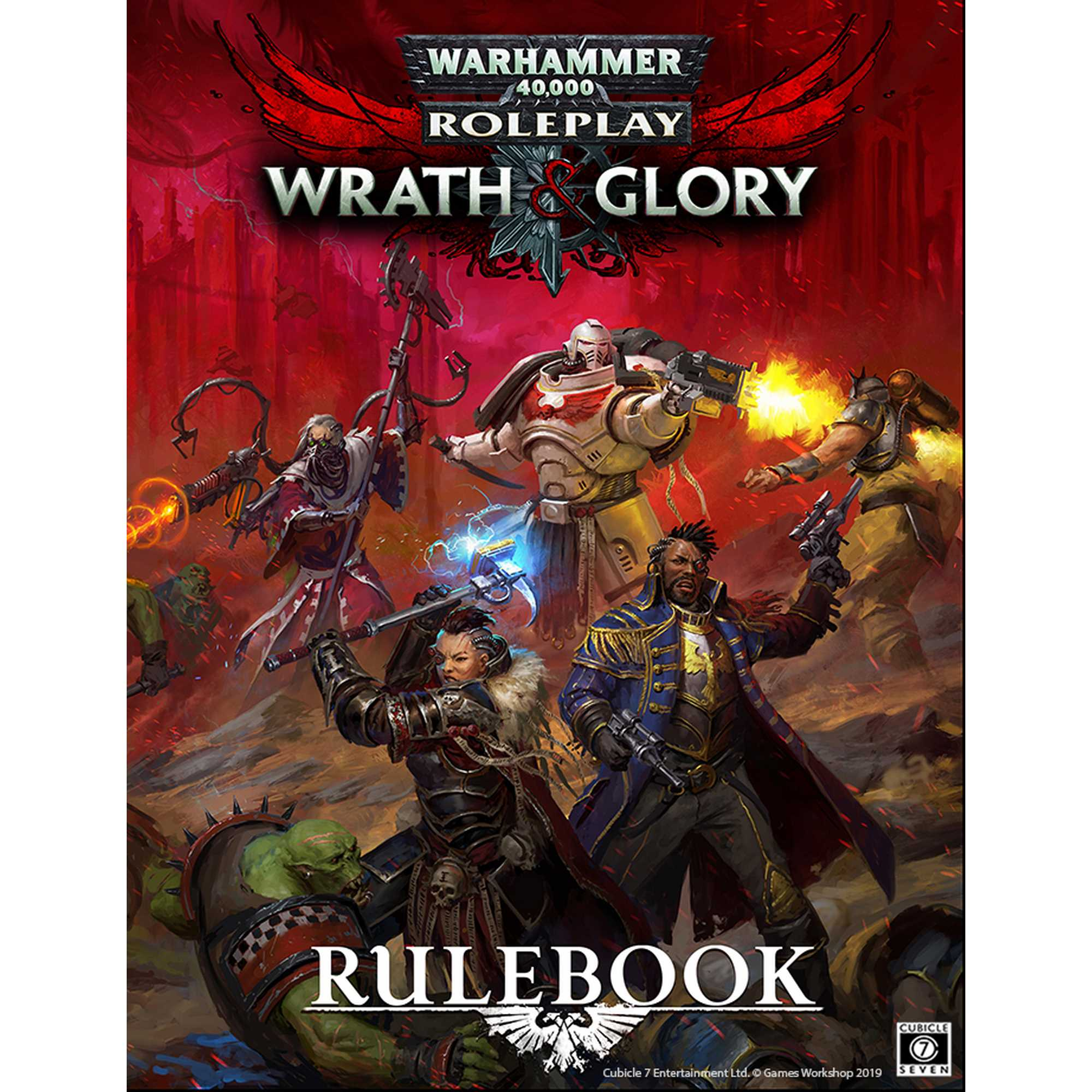 Wrath and Glory Core Rulebook: Warhammer 40k Role Playing Game