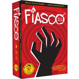 Fiasco In a Box RPG (2nd Edition)