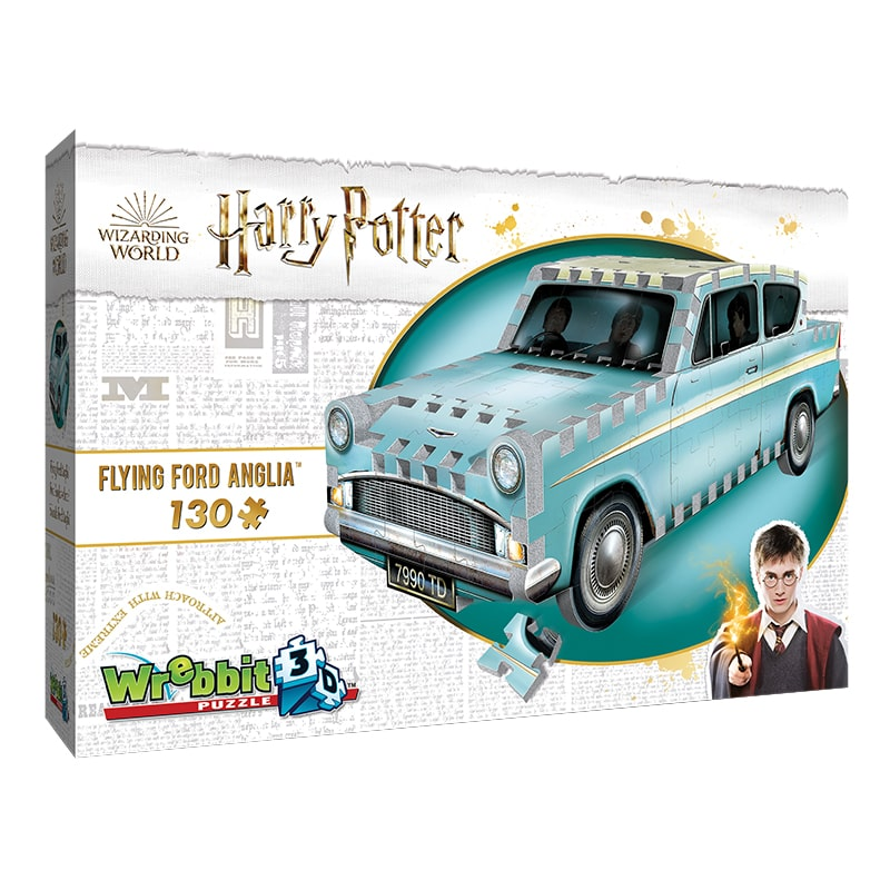 Flying Ford Anglia 3D Puzzle (Wrebbit Harry Potter Wizarding World)