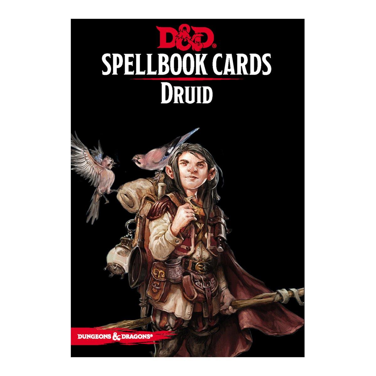 D & D Spellbook Cards - Druid