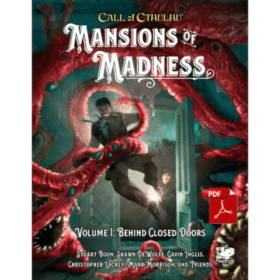 Mansions of Madness Vol 1: Behind Closed Doors. Call of Cthulhu RPG