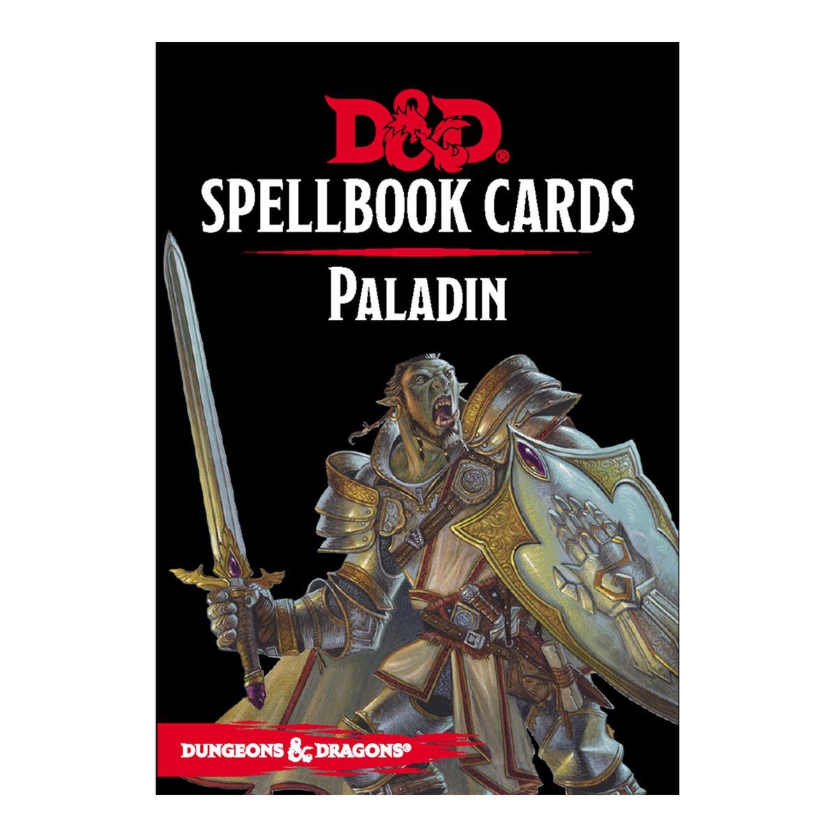 D & D Spellbook Cards - Paladin